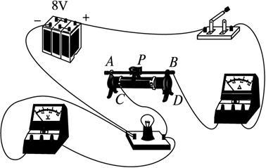 (1)会用伏安法测定小灯泡的额定功率与不在额定电压