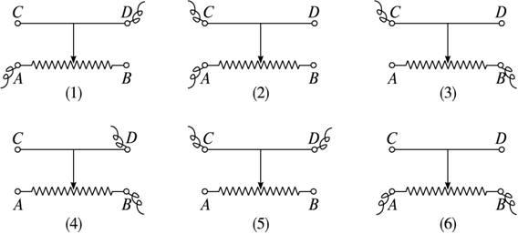 把滑动变阻器串联接入电路中